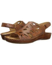 Pikolinos - Puerto Vallarta 655-0524 (brandy) Women's Sling Back Shoes - Lyst