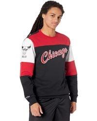 Mitchell & Ness Nba Perfect Season Crew Fleece Bulls - Black