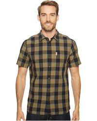 Fjallraven - High Coast Big Check Shirt Short Sleeve (un Blue) Men's Short Sleeve Button Up - Lyst
