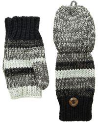 San Diego Hat Company - Kng3598 Marled Knit Glitten (black) Wool Gloves - Lyst