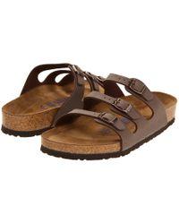 Birkenstock - Florida Soft Footbed - Birkibuc - Lyst