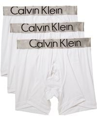 Lyst Calvin Rise White For Trunk In Low Micro Klein Men Steel ffCqUrw