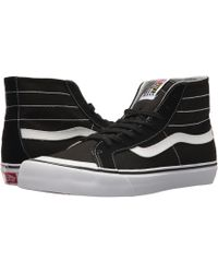 a17593c7e61790 Vans - Sk8-hi 138 Decon Sf (black white checker) Men s