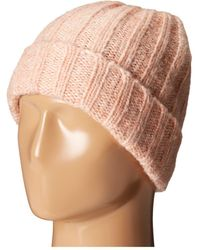 San Diego Hat Company - Knh3426 Solid Cuffed Ribbed Knit Beanie (blush) Beanies - Lyst
