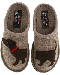 Haflinger - 'doggy' Slipper - Lyst