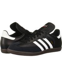 adidas Performance Samba Classic Indoor Soccer Shoe - Black