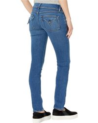 Hudson Jeans Collin Mid-rise Skinny In Excursion - Blue