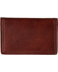 Bosca Dolce Collection - Calling Card Case - Brown