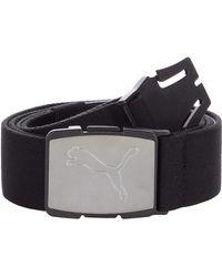 PUMA Ultralite Stretch Belt - Black