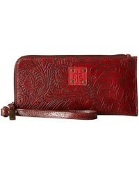 STS Ranchwear - The Floral Clutch (mocha) Clutch Handbags - Lyst