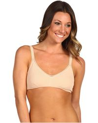 On Gossamer - Cabana Cotton Bralette 010404 (champagne) Women's Bra - Lyst