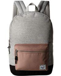 Herschel Supply Co. - Settlement Mid-volume (deep Teal) Backpack Bags - Lyst