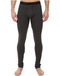 2xist 2(x)ist Essentials Long Underwear - Gray