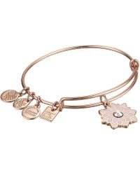 ALEX AND ANI - Charity By Design, Water Lily Bangle - Lyst