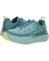 Hoka One One - Bondi 6 (dragonfly/aqua Haze) Women's Running Shoes - Lyst