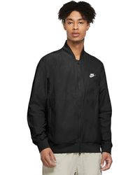 Nike - Nsw Sce Woven Players Jacket Clothing - Lyst
