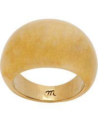 Madewell Dome Ring Ring - Metallic