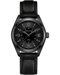 Hamilton - Khaki Field - H68401735 (black) Watches - Lyst