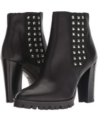 The Kooples - Anne Boots With Studs (black) Women's Boots - Lyst
