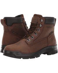 Wolverine Chainhand Soft Toe Wp Work Boots - Brown