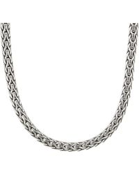 John Hardy - Classic Chain Slim Necklace 3.5 Mm. (silver) Necklace - Lyst