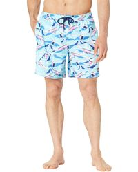 Vineyard Vines Printed Chappy Swimwear - Blue