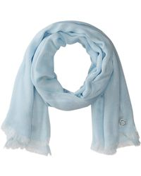 CALVIN KLEIN 205W39NYC Chambray Scarf - Blue