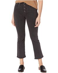 Madewell Cali Demi-boot Jeans In Bellspring Wash - Black