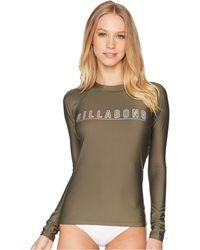 Billabong - Core Performance Fit Long Sleeve (dusty Olive) Women's Swimwear - Lyst