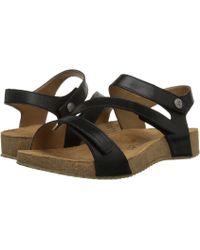 Josef Seibel - Tonga 25 (black Equipe) Women's Shoes - Lyst