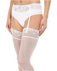 B.tempt'd Ciao Bella Garter Belt - White
