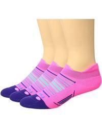 Feetures! - Elite Light Cushion No Show Tab 3-pair Pack - Lyst