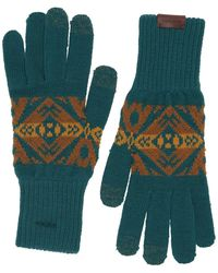 Pendleton Texting Gloves - Blue