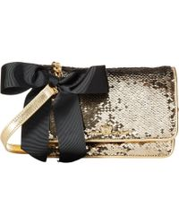 My Flat In London - Sparkle Small Sequin Flap Bag - Lyst