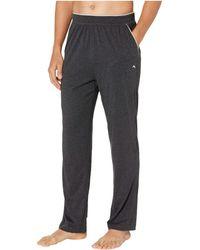 Tommy Bahama Cotton Modal Heather Lounge Pants - Black