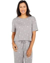 Alternative Apparel Flowy Relaxed Cropped T-shirt - Gray