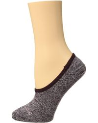 Smartwool - Premium Marl Hide And Seek No Show (bordeaux Heather) Women's No Show Socks Shoes - Lyst