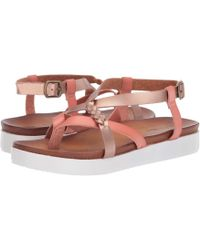 822c4bcd2f7 Not Rated - Sela (nude) Women s Flat Shoes - Lyst