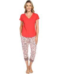 Lucky Brand Tee-jay Pajama Set - Multicolor
