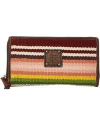 STS Ranchwear Buffalo Girl Serape Bifold Wallet - Multicolor