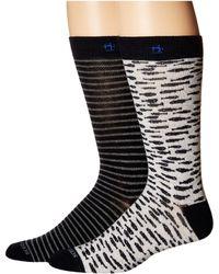 Scotch & Soda - Classic Socks With Yarn-dyed Pattern - Lyst