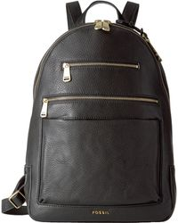 Fossil Piper Backpack - Black