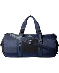 Lacoste - Match Point Nylon Duffel Bag - Lyst