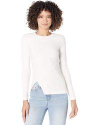 AllSaints Gia Long Sleeve Tee Clothing - White
