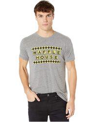The Original Retro Brand Tri-blend Short Sleeve Waffle House Tee - Gray