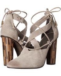Free People - Nouvella Wrap Court Shoes - Lyst