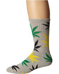 Huf Plantlife Crew Socks - Green