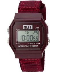 Neff - Flava Xl Woven Watch - Lyst