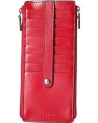 Lodis - Audrey Rfid Joan Double Zip Card Case - Lyst