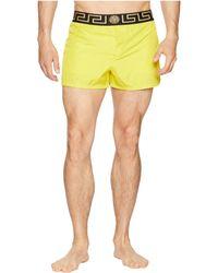 Versace - Beach Shorts (yellow/black) Men's Swimwear - Lyst